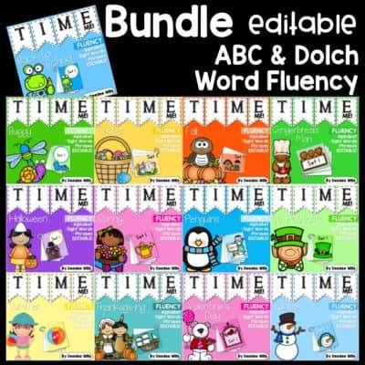 Sight word fluency games