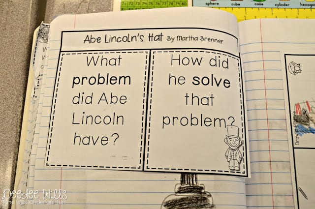 Problem and Solution with the text Abe Lincoln's Hat