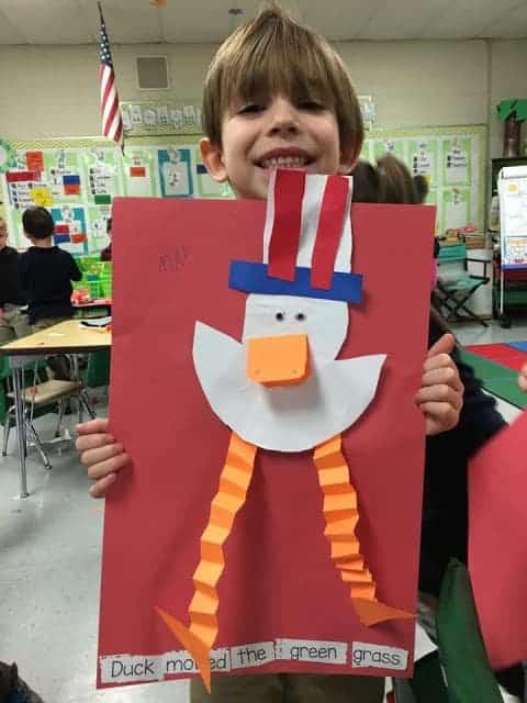 Duck for President sentence study