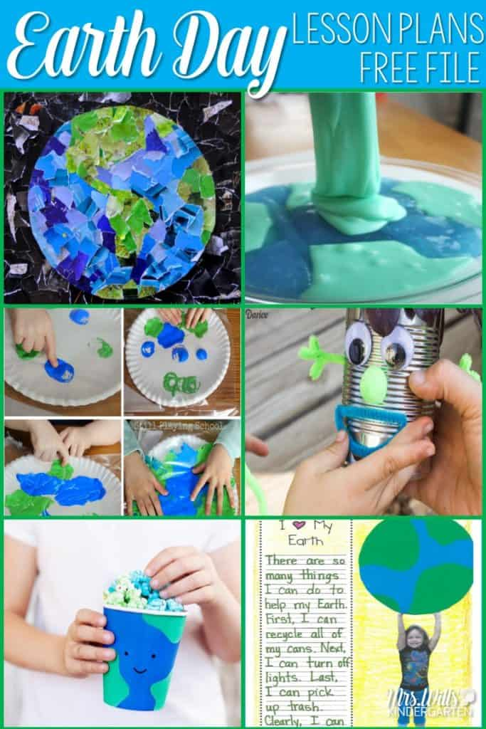Foster a love for sustainability with these Earth Day Lesson Plans and Activities for Kindergarten and 1st grade! There's also a free file to download!