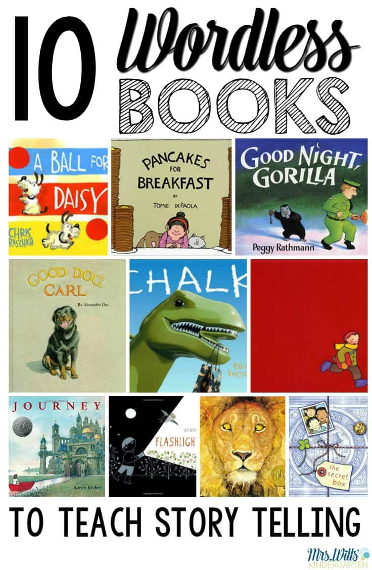 10 wordless books that will help you teach story telling. Activities and resources to strengthen sequential story telling. Before students can write a story, they must be able to tell a story.