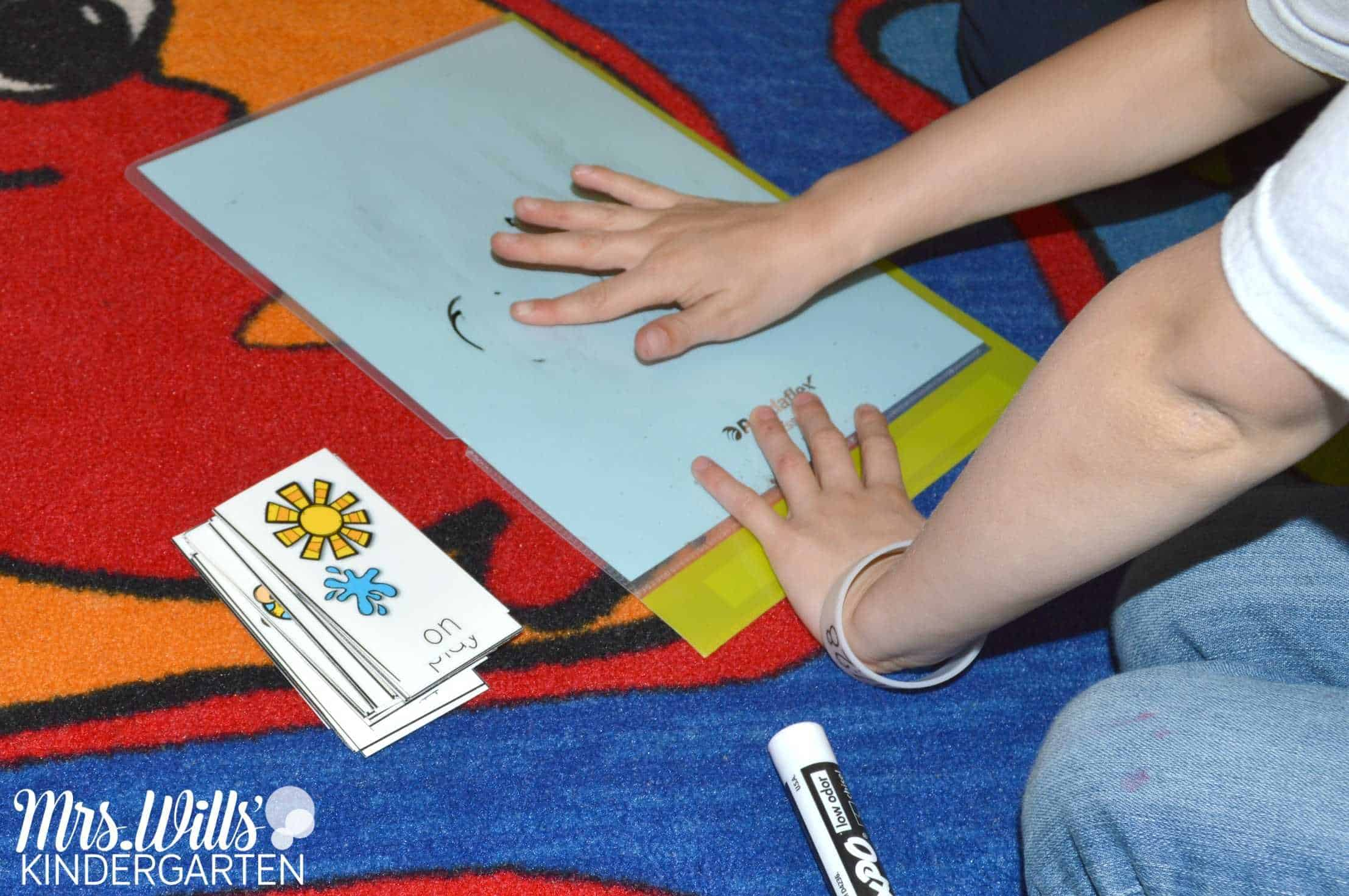 Sight word Spelling Game