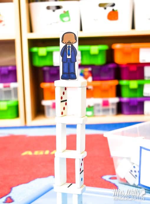 Martin Luther King, Jr Lesson Plans with reading and writing activities for kindergarten and first grade. Close reading lessons for Martin's Big Words are featured in this posts. Students will retell the story, write a connection, infer and more. Fun craft with sentence study will help your students learn AND have fun!