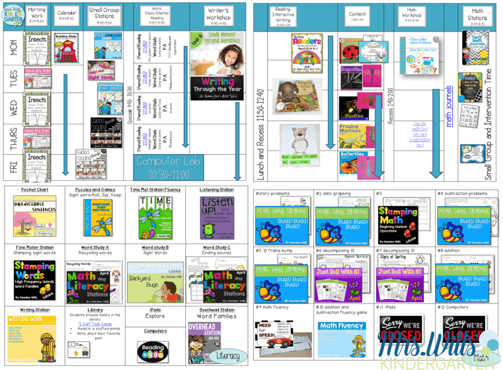 Kindergarten Lesson Plans for April
