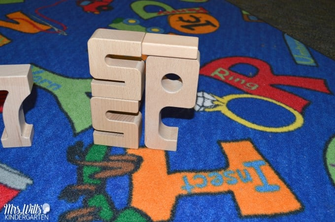 Use wooden blocks to build number sense. Looking for a way to incorporate open-ended and fun activities while also building your students' number sense? Solution found! Addition, equivalency, making 10, composing and decomposing numbers skills work great with these engaging tasks. Perfect center for pre-K, kindergarten, and beyond! Ages 2-11!