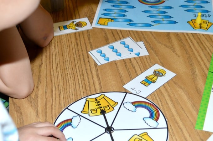 Math Fluency Games for addition, subtraction, ten frames, and subitizing. Engaging math center activities that will last all year! Back to school, Halloween, Fall, Thanksgiving, Christmas, Winter, Spring, and Summer themes are included.