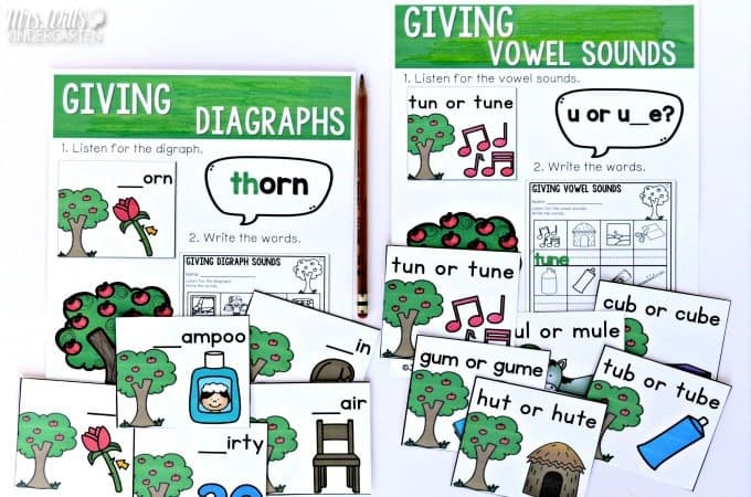 The Giving Tree book activities