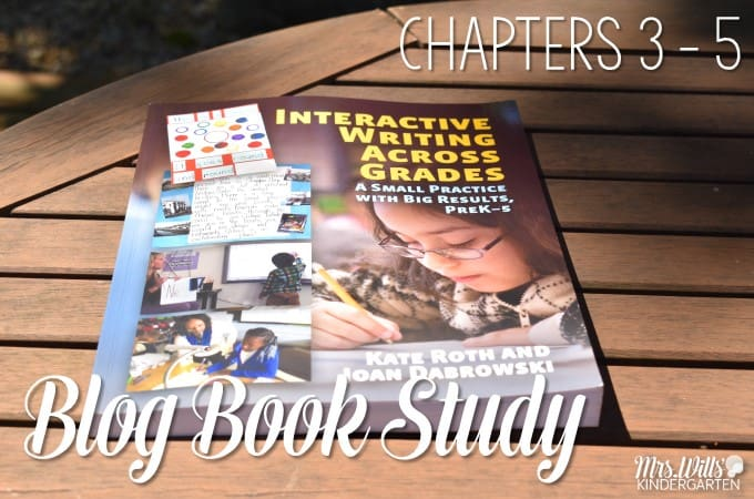 Interactive Writing Book Study Ch 3 to 5! Let's look at the book Interactive Writing Across the Grades as part of our blog book study. See how to engage young writers through explicit writing instruction.