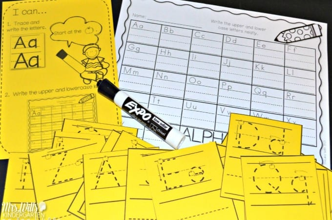 Chrysanthemum Lesson Plans for Kindergarten! This back to school book is great for the beginning of the year. I added a free name activity that your students will love! Math and literacy center ideas are also included in this blog post.