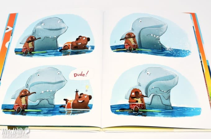 Shark Activities for Kindergarten and First Grade. Book suggestions for informational texts and narrative texts along with lesson suggestions! Ideas for reading comprehension, schema building, and nonfiction writing too! Great for readers workshop and writers workshop! There is also a free math game included!