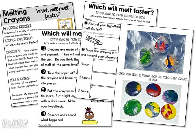Kindergarten Lesson Plans Week 7 featuring ideas for The Art Lesson by Tomie DePaola reading, writing, math, craft and center activities too. Download the free editable lesson plan template.