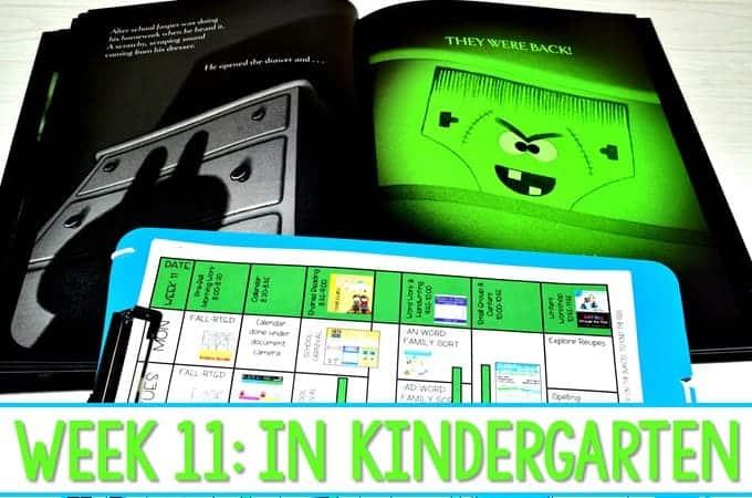 Kindergarten Fall Activities and Ideas