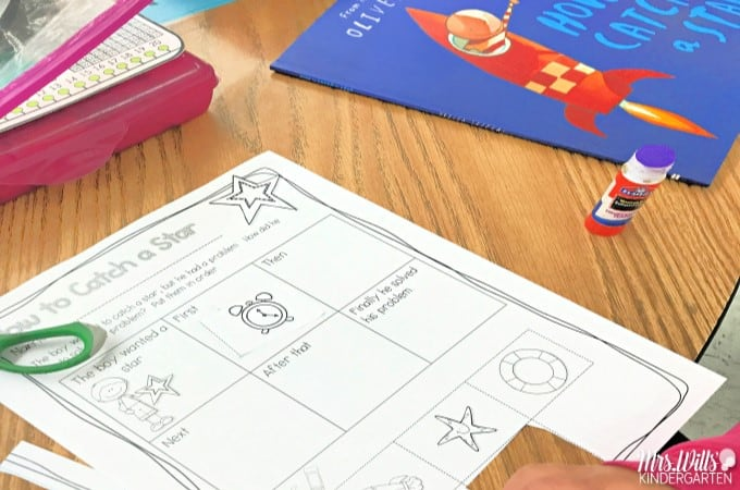 Listening center ideas and response activities for kindergarten and first grade. Turn your listening to reading into an active learning activity.