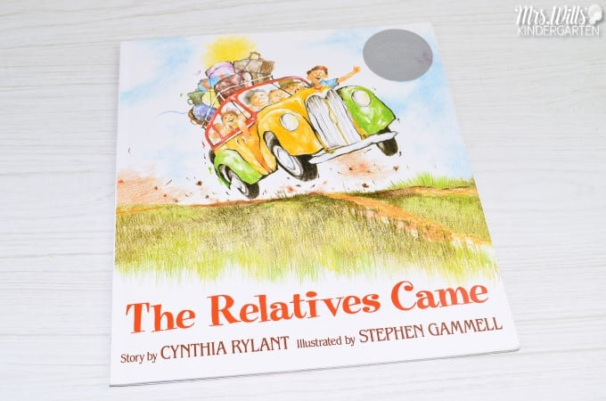The Relatives Came Read Aloud. Engaging lesson plans to teach reading comprehension in K-1. Responding to literature resources and fun craft ideas for your classroom, too!