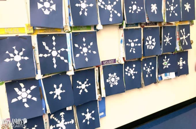 Learning About Snow Lesson Plans for kindergarten and first grade with the book Snow is Falling. Reading comprehension, writing prompts, a craft and more. Check out my lesson plan ideas with math and literacy center ideas too for your classroom.