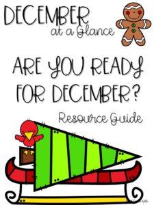 December Curriculum Guide