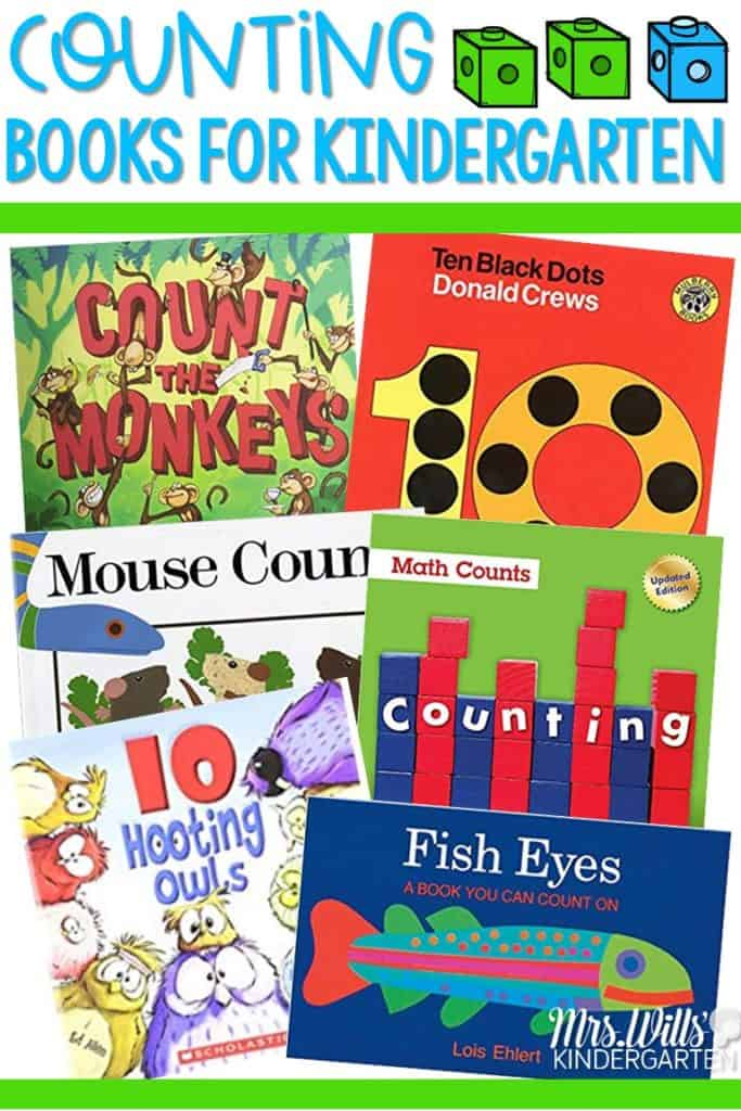 Counting books for kindergarten