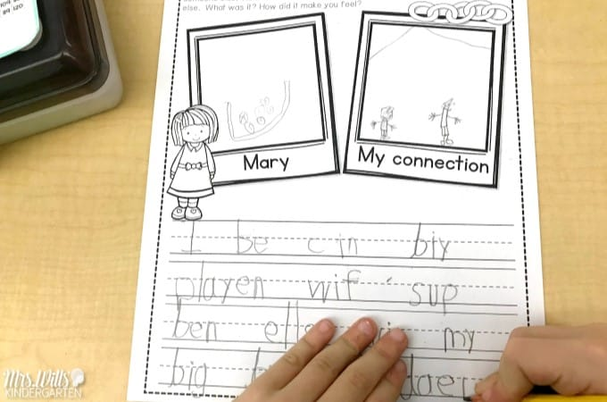 Ordinary Marys Extraordinary Deed Lesson Plans and Ideas for kindergarten and first-grade. Reading comprehension, responding to literature and more! Inferring, making connections, retelling text details too! #readingcomprehension #kindergartenreadinglessons #kindergartenwriting