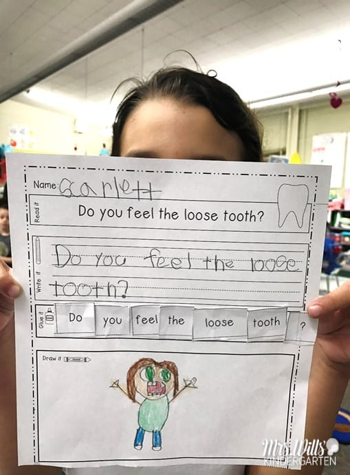 Just Going to the Dentist Lesson Plan Ideas for Kindergarten and1st grade. Great for Dental Health Month! Reading Comprehension, writing, crafts and center ideas too!