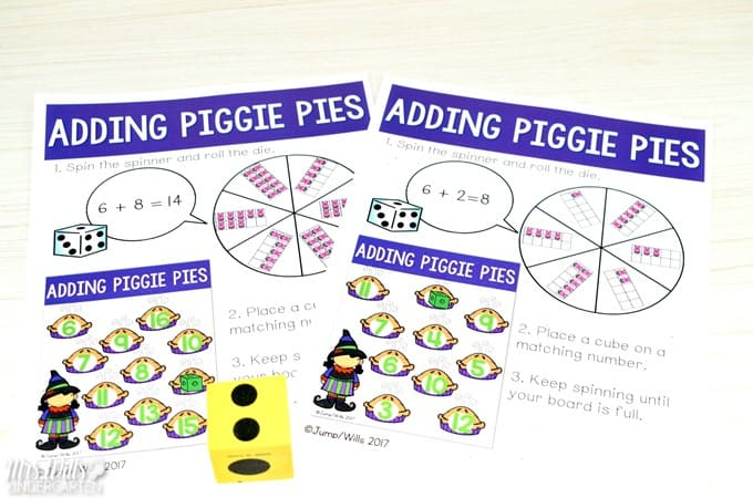 Piggie Pie Lessons for kindergarten and first grade. Reading comprehension, directed drawing, center ideas, and a fun STEM activity too! Download the free lesson plan template!