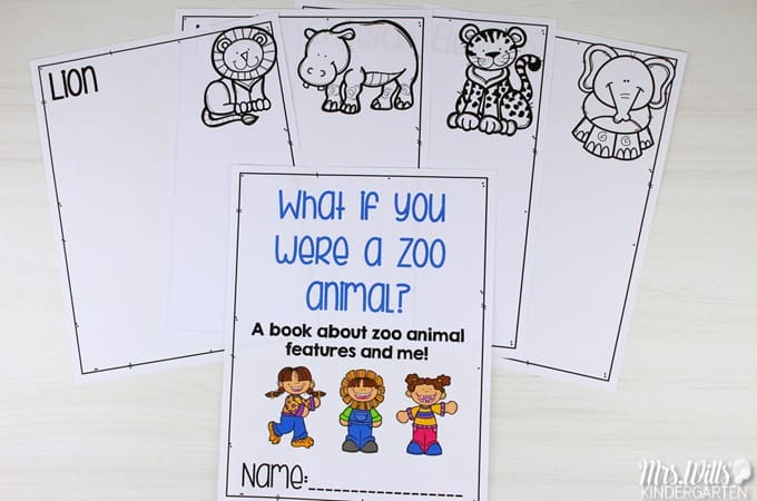 """Animal lesson plan ideas for kindergarten and 1st grade with a free file! Close reading lesson plans to learn about animal adaptations using the """"What if you had Animal..."""" book series."""