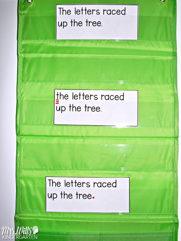 Sentence study and grammar activities for kindergarten, first, and second grade. Weekly lesson plans using authentic texts. With just 10 minutes a day, you can practice conventions of print and grammar.