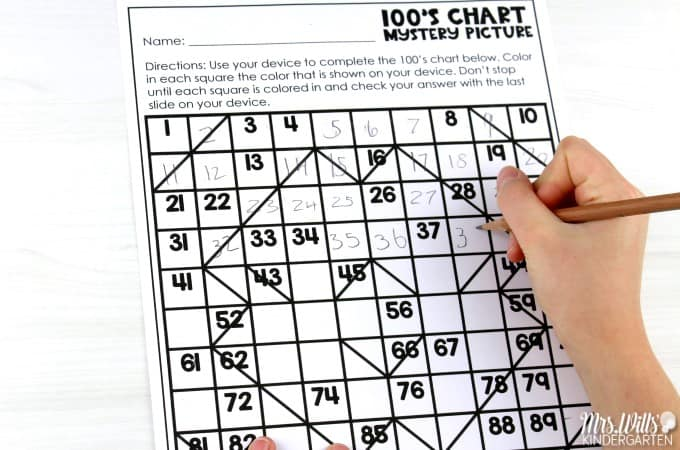 Hundreds chart puzzles for the whole year! These differentiated 100 chart mystery puzzles are such a fun way for students to practice a variety of counting skills and number recognition. Available in digital and printable versions with student response sheets, too!