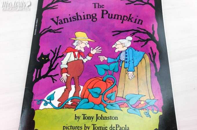 Halloween Read Alouds for kindergarten, first, and second grade. These are some of my favorite books to read during the month of October in celebration of Halloween!