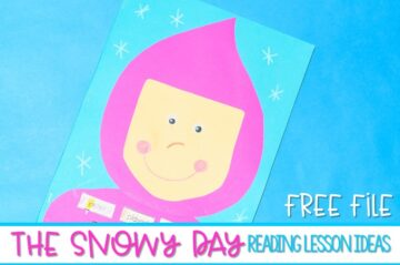 The Snowy Day Activities Kindergarten and Lesson Plans! Reading comprehension skills are practiced such as visualizing and making connections. A fun craft for The Snowy Day is also featured. You can get a free winter math activity too! So many ideas for your classroom!