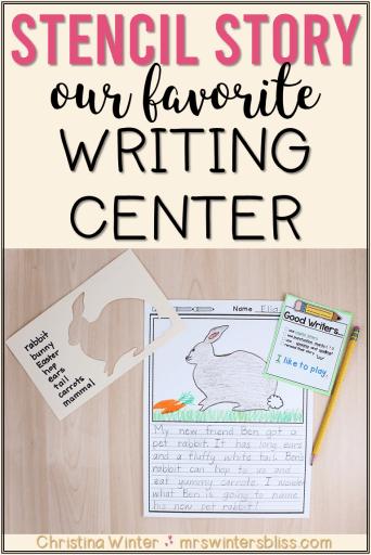 1st grade writing idea