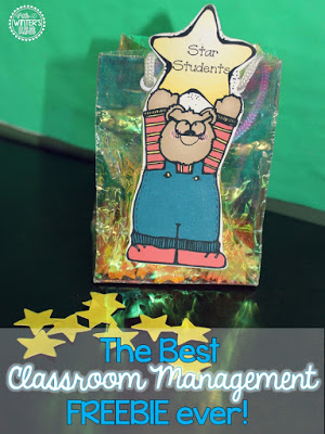 The BEST Classroom Management Tip! {A FREEBIE!}