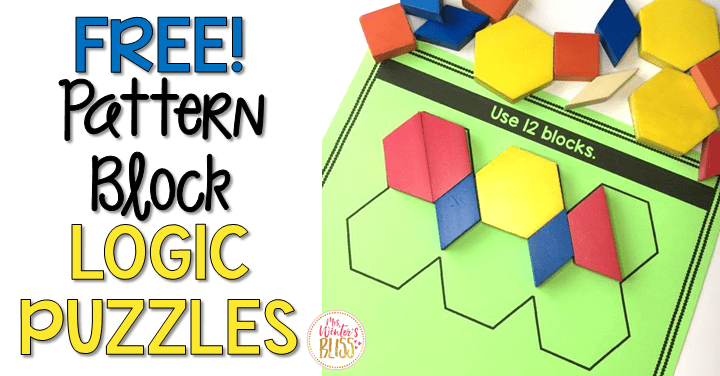 Pattern Block Logic Puzzles