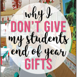 end of year student gift idea