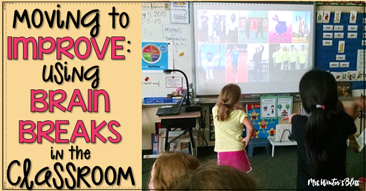 brain breaks in the classroom