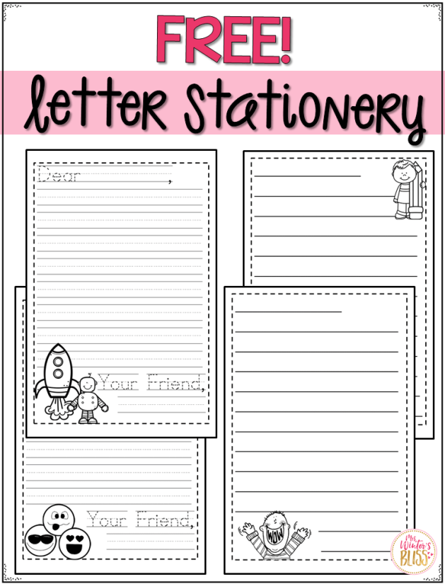 letter stationery