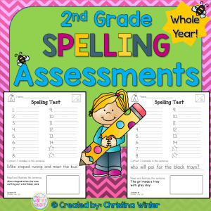 2nd grade spelling word activities