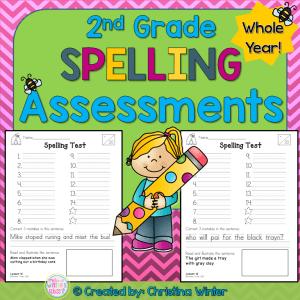 2nd grade spelling word activities
