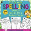 2nd grade spelling assessments