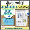 alphabet activities fine motor