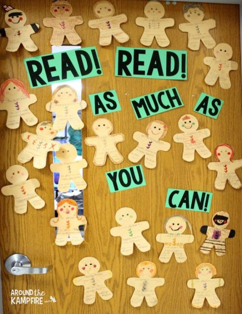 free gingerbread man summary activity