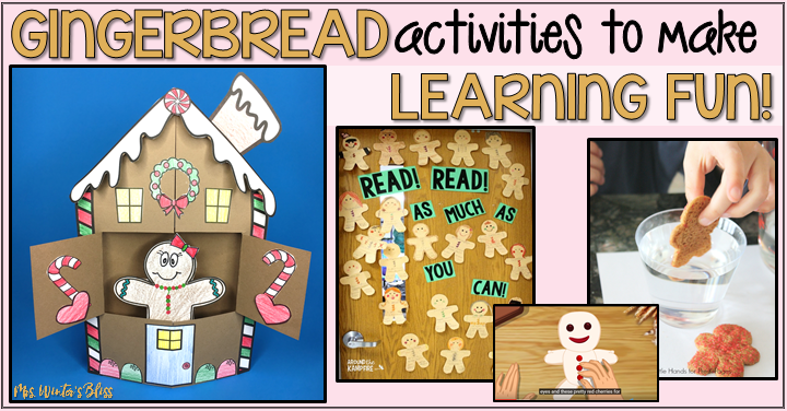 Gingerbread Man Activities to make Learning Fun!