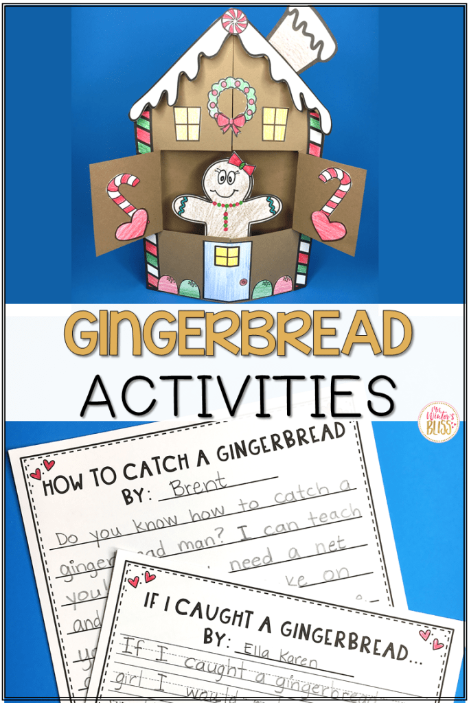 gingerbread man house activities