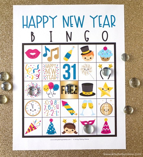 new years bingo