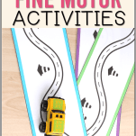 activities for fine motor development