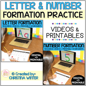 letter formation activities worksheets