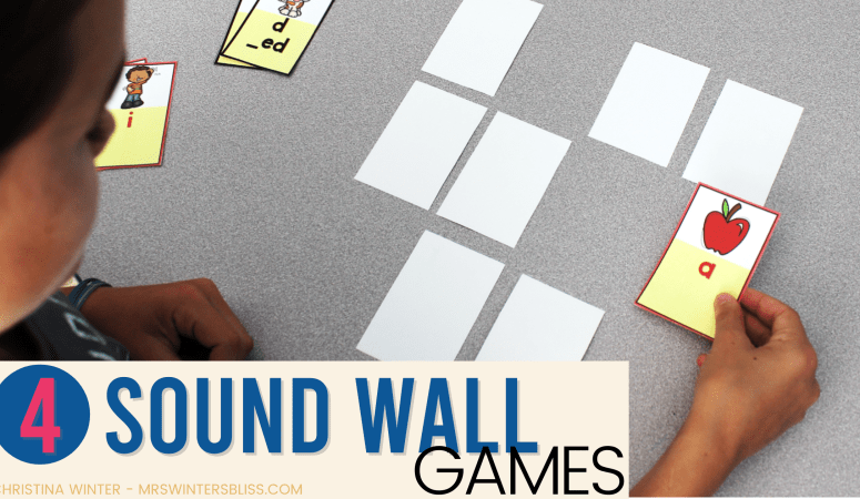 4 Sound Wall Games