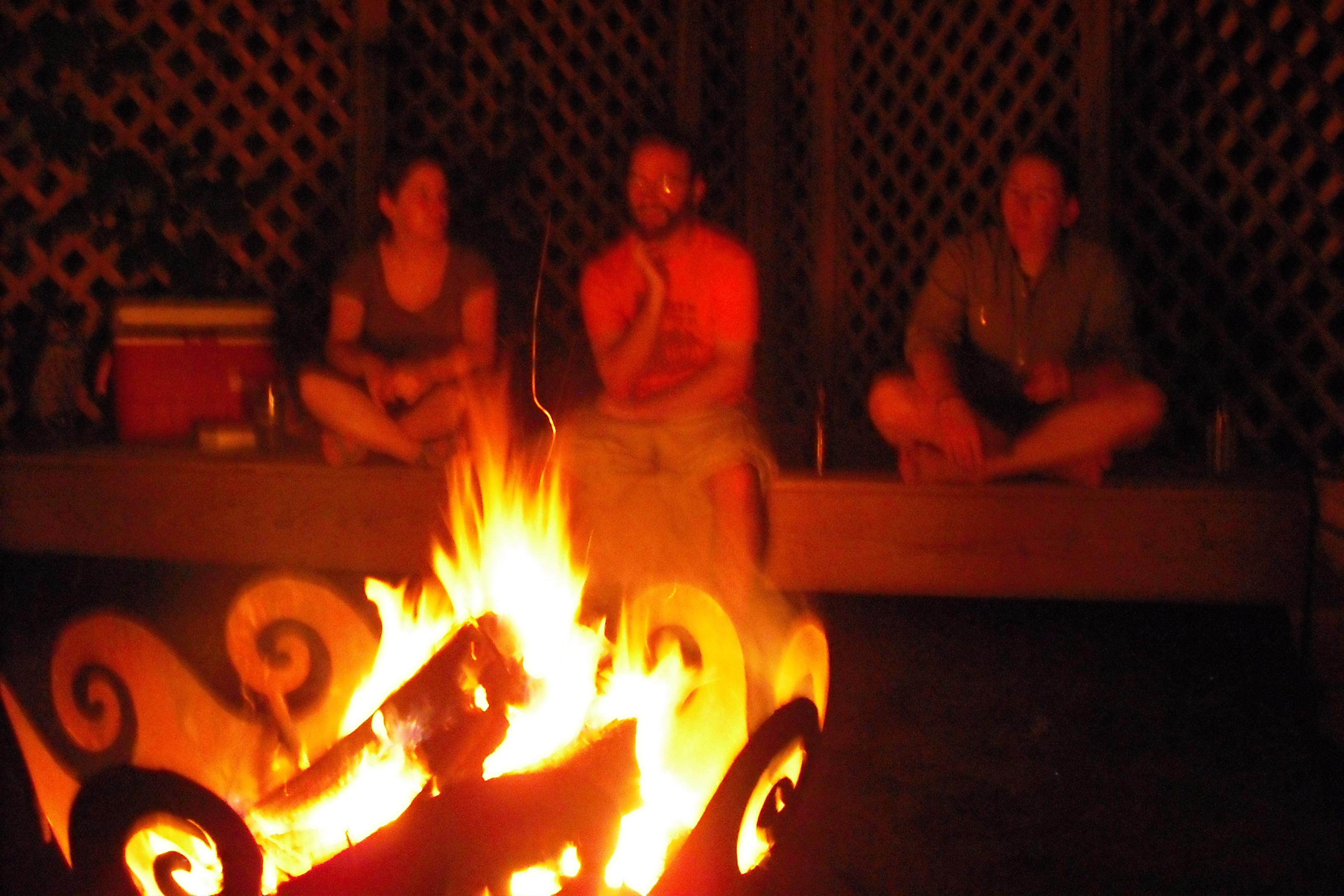 Campfire at Kim's