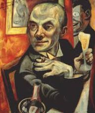 Max Beckmann self potrait