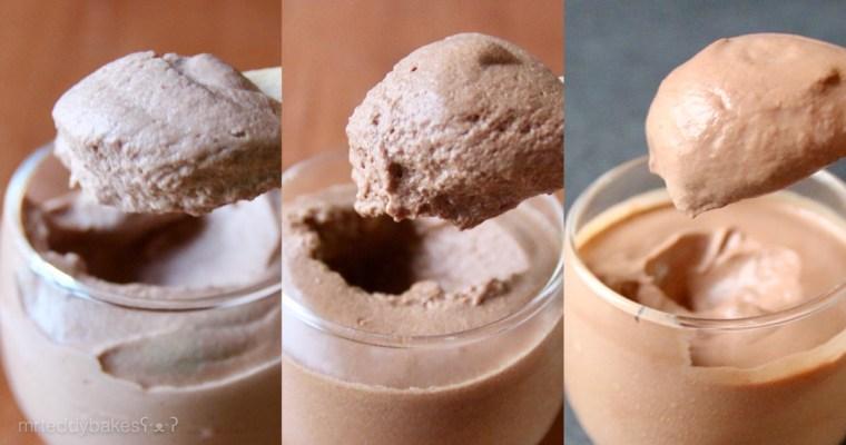 Mousse au chocolat 朱古力慕斯 – 實驗