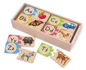 Melissa & Doug Self-Correcting Letter Puzzle